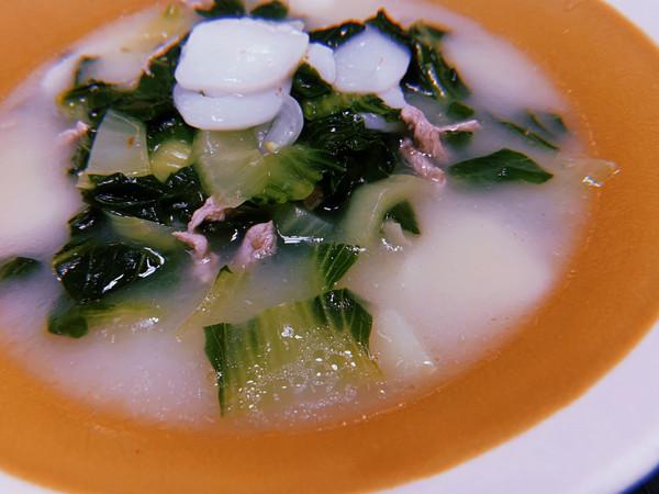 发发汗,夏天里的年糕汤的做法