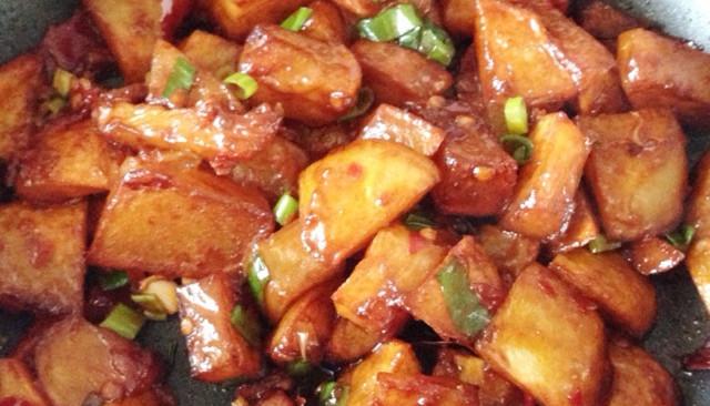 酱烧土豆的做法