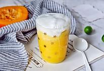 奶盖南瓜拿铁(快手版)#做道好菜,自我宠爱!#的做法