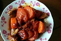 西红柿烧牛腩的做法