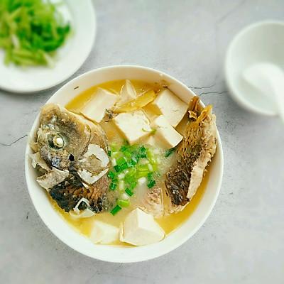 鯉魚豆腐湯