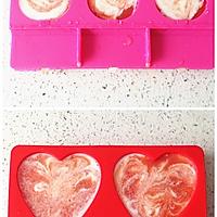零添加的自制西瓜酸奶雪糕的做法图解5