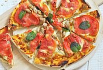 薄皮番茄罗勒意大利披萨的做法