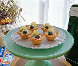 水果奶油燕麦挞的做法