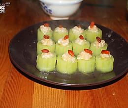 青瓜虾盅的做法