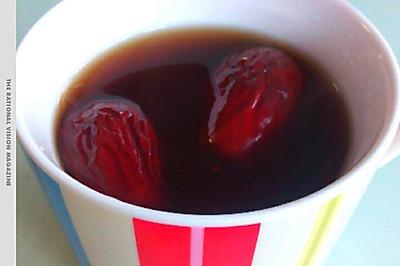 红糖生姜枣茶