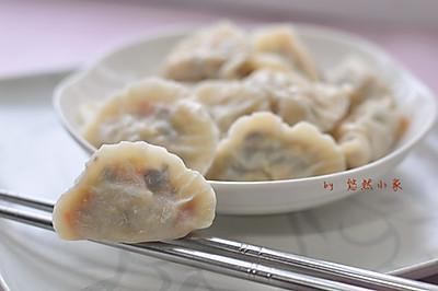 鸡蛋胡萝卜饺子