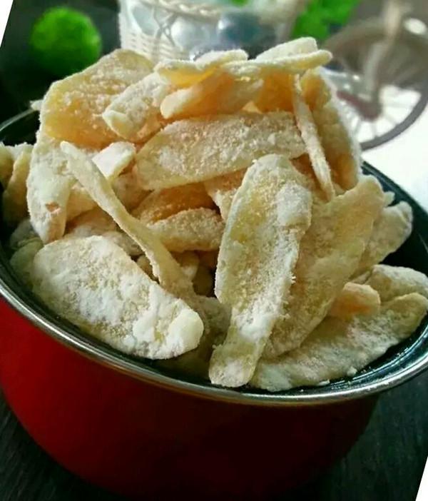 糖姜片的做法