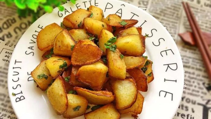 孜然土豆块#樱花味道#