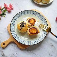 豆沙蛋黄酥#晒出你的团圆大餐#的做法图解23
