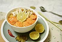 酸辣鲜甜的冬阴功汤,天凉一口好暖胃的做法