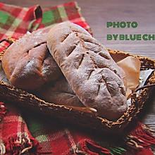黑麦芝麻核桃面包