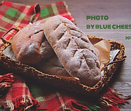 黑麦芝麻核桃面包的做法
