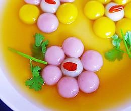 #元宵节美食大赏#花朵汤圆的做法