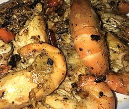 椒盐罗氏虾的做法