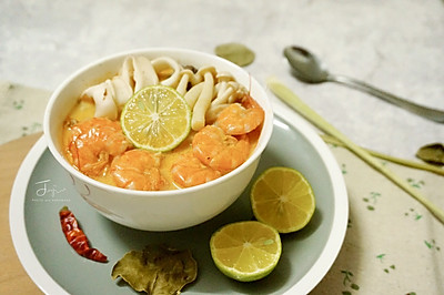 酸辣鲜甜的冬阴功汤,天凉一口好暖胃