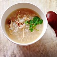 虾干鱿鱼蚝豉海鲜粥
