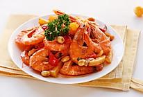 香辣虾-丘比沙拉汁香辣口味的做法