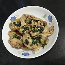 蔥油姜香雞腿