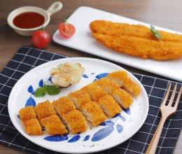 外酥里嫩的鱼排,大人小孩都爱吃——巴沙鱼排的做法