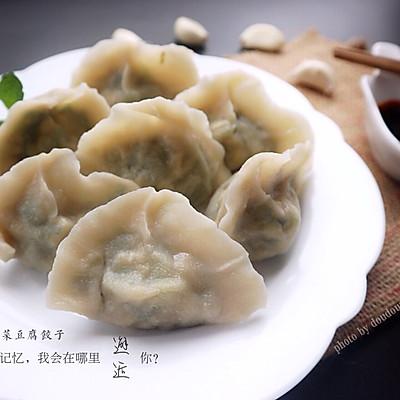 春韭菜豆腐鸡蛋饺子