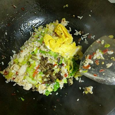 蛋炒饭的做法 步骤6