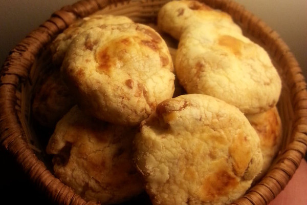 一口坚果小酥饼的做法