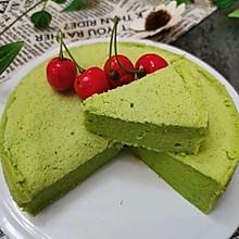 #换着花样吃早餐#菠菜蒸蛋糕
