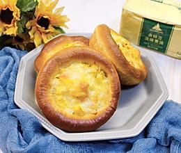 蟹柳滑蛋面包#奈特兰草饲营养美味#的做法