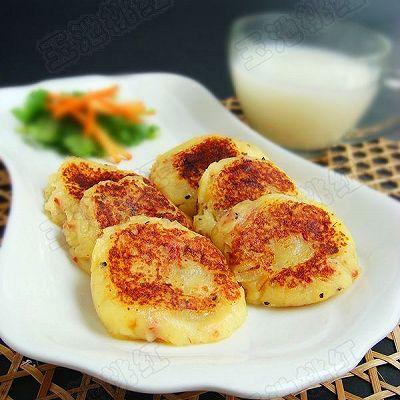 培根洋葱土豆饼