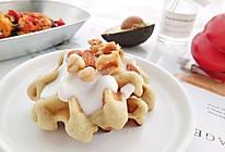 香蕉牛油果华夫饼的做法