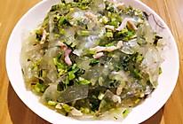 咸菜粉皮炒肉丝的做法