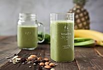 Vitamix版绿色精力汤,保证蔬果营养的做法