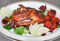 烤脆皮猪肘-配苹果酱的做法