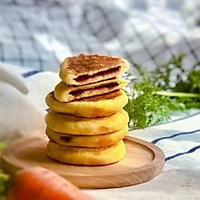 寶寶版奶香胡蘿卜紫薯餅#餡兒料美食,哪種最好吃#