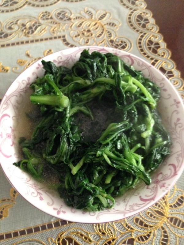 炒茼蒿菜的做法
