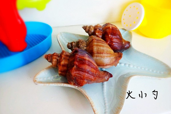 煮海螺的做法