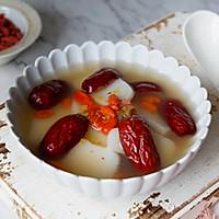 红枣枸杞汤年糕#新年开运菜,好事自然来#的做法图解9
