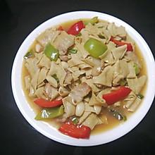 青椒干豆皮