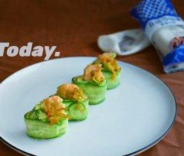 #一起土豆沙拉吧#鲜虾牛油果土豆沙拉的做法