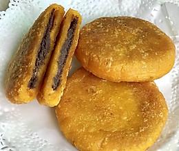 南瓜红豆馅饼的做法