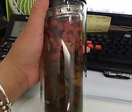 办公室防辐射美容必备茶的做法