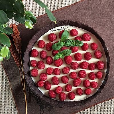 树莓巧克力塔