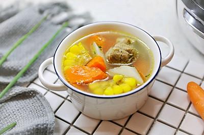 杂蔬山药排骨汤