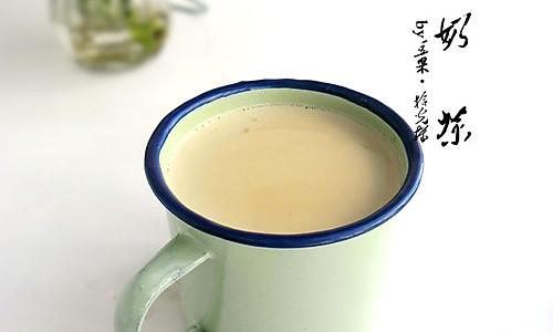 早安奶茶的做法