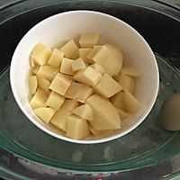 日式土豆沙拉#春天不减肥,夏天肉堆堆#的做法图解2