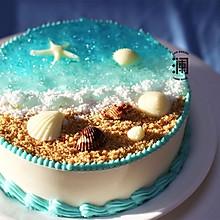 送你一丝清凉:海洋慕斯蛋糕