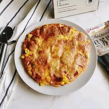 培根披萨#安佳马苏里拉芝士挑战赛#