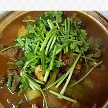 咖喱土豆牛腩煲