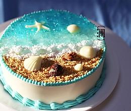 送你一丝清凉:海洋慕斯蛋糕的做法